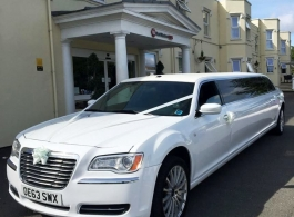Chrysler 300 Limousine for weddings in Swindon